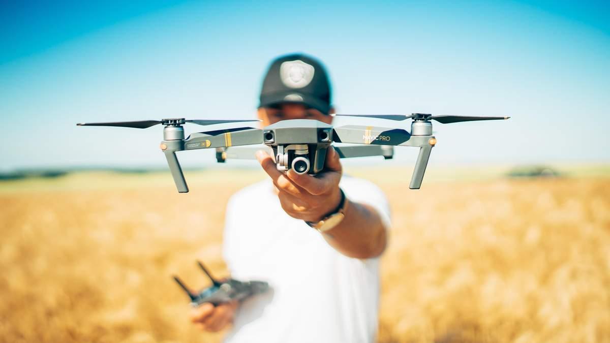 В Україні з'явився власний дронопорт