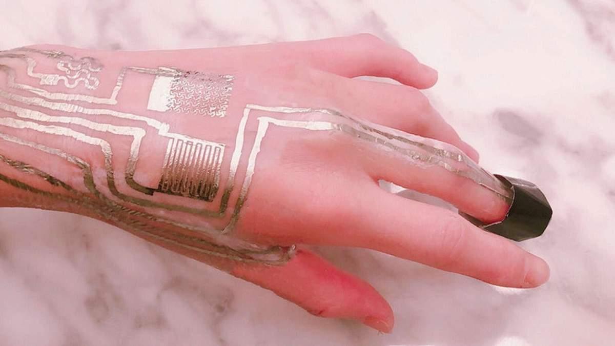 Создали сенсор, который можно печатать на человеческой коже: для чего