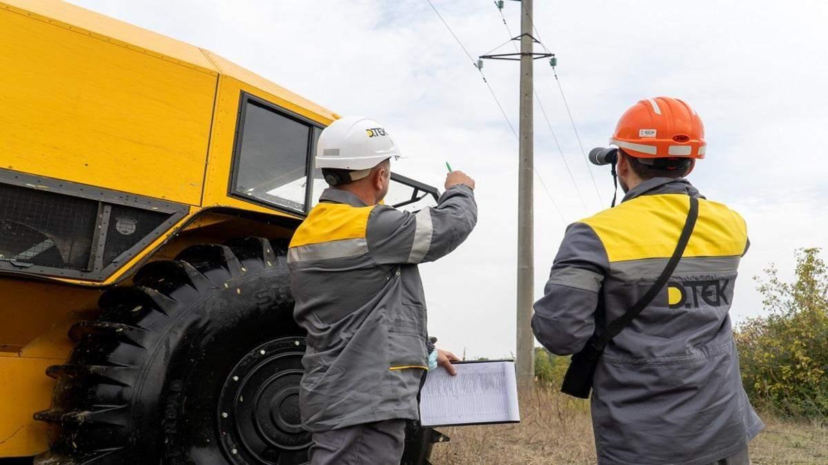 ДТЭК протестировал вездеходы для ремонта линий электропередач