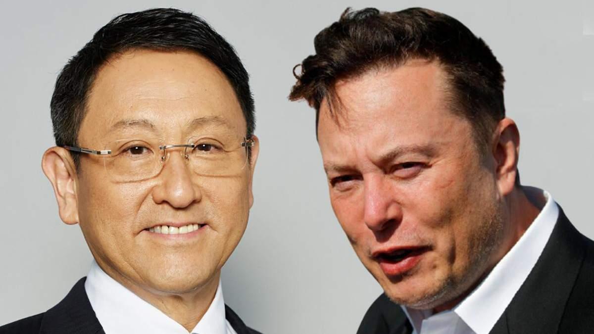 Торгуют рецептами, а не блюдами, – глава Toyota об успехах Tesla