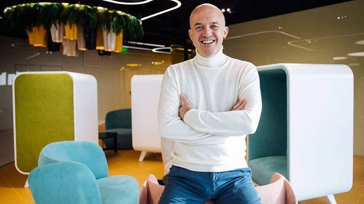 Директор з інновацій ДТЕК Емануеле Вольпе