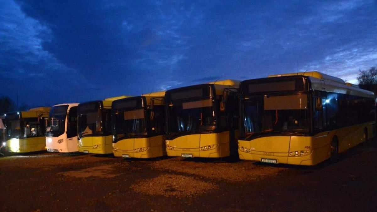 Во Львове запускают экологические автобусы на газе: фото, видео