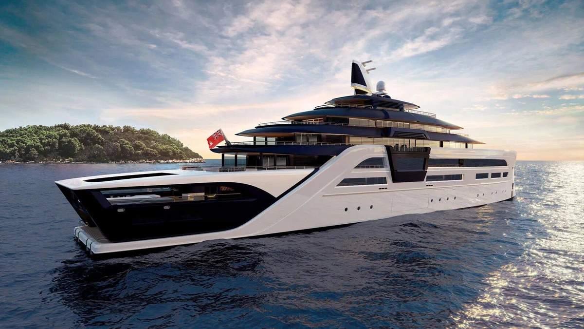 Немцы создают роскошную яхту с кинотеатром и бассейнами: фото, цена