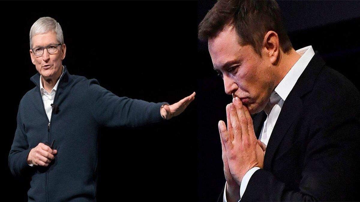 Илон Маск предлагал Apple купить Tesla: реакция Тима Кука
