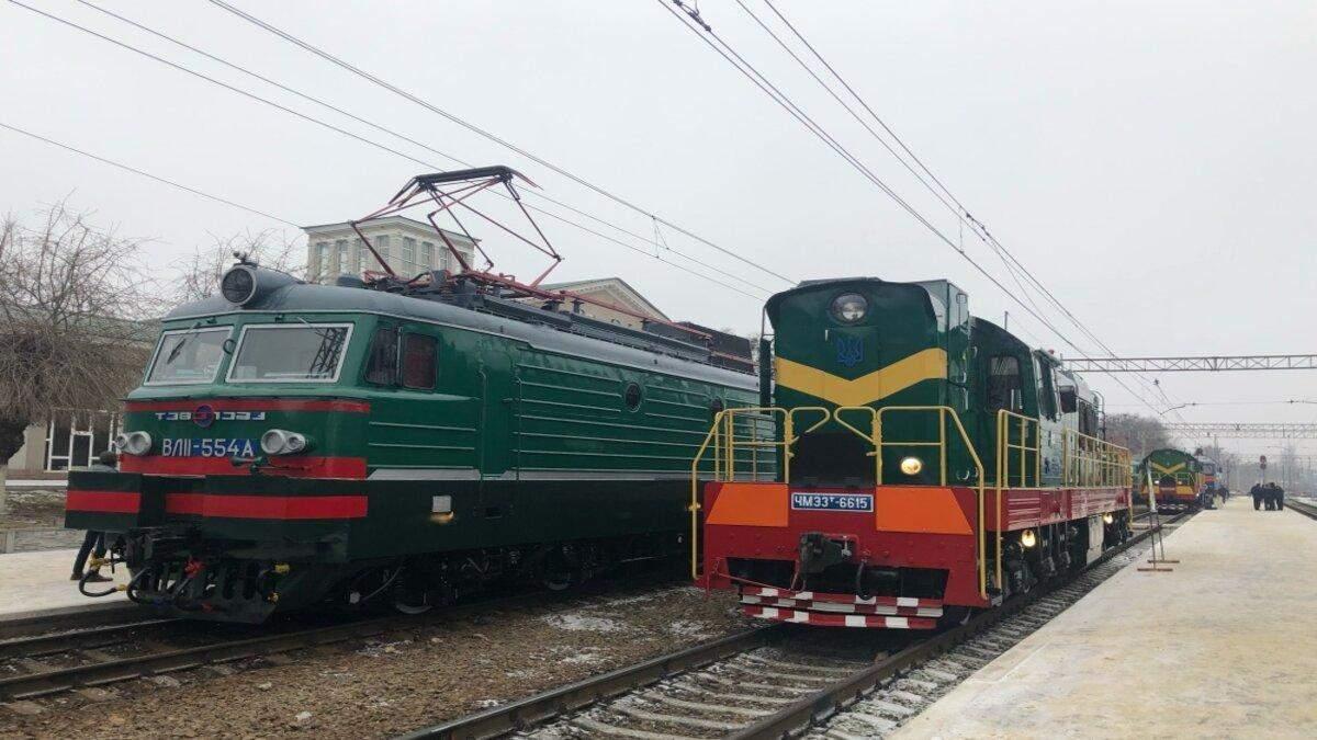 На Південній залізниці з'явилися модернізовані локомотиви