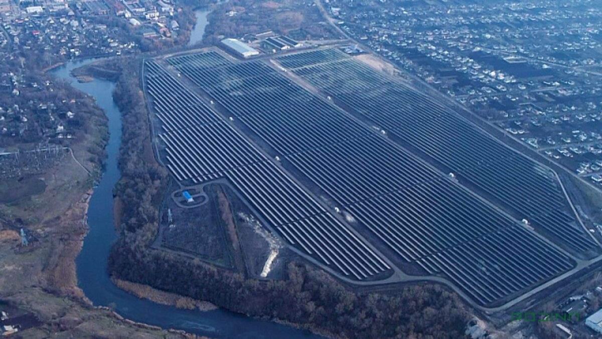 Норвезька компанія запустила на Черкащині сонячну станцію