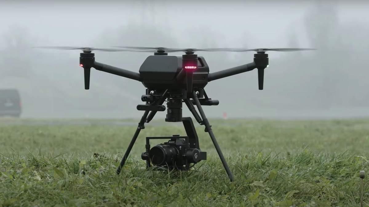 Sony розробляє дрон зі штучним інтелектом: перші відео