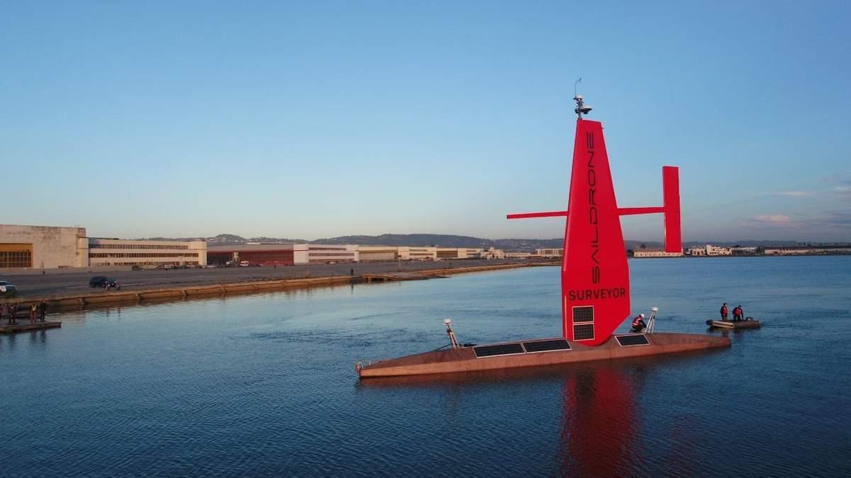 Saildrone представила автономное судно Surveyor: фото, видео