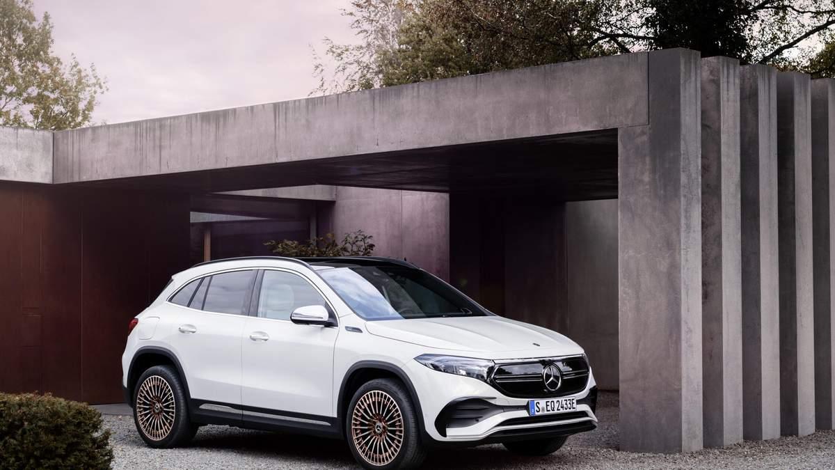 Новый электрический внедорожник Mercedes-Benz EQA: фото, цена