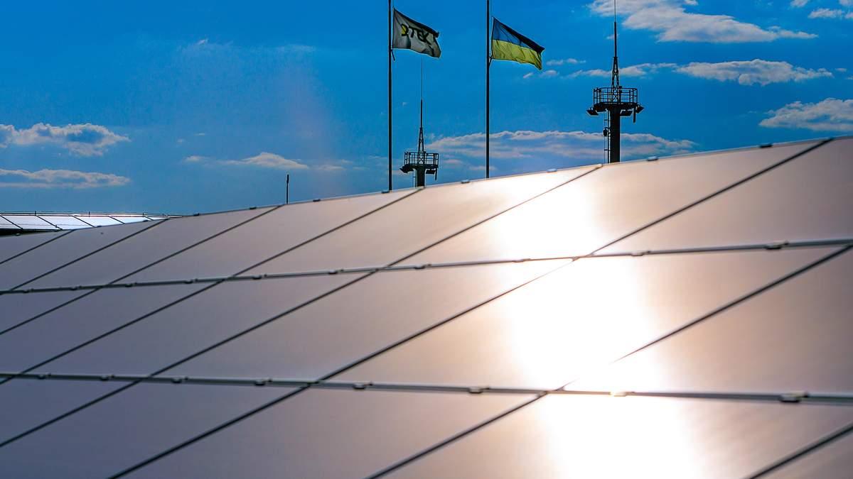 У ДТЕК розповіли, як працюють сонячні електростанції взимку