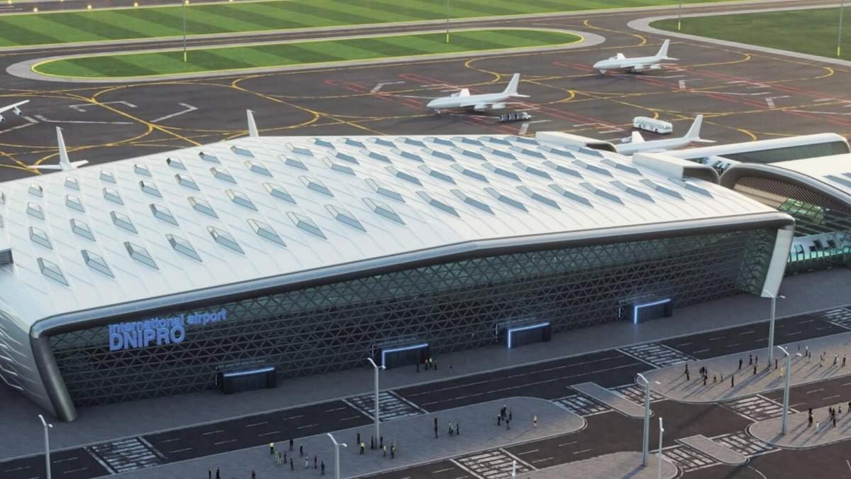 Будівництво нового аеродрому в Дніпрі: подробиці від Криклія