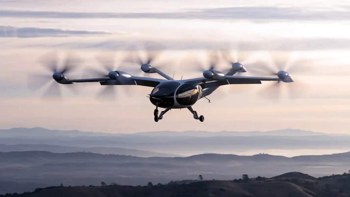 Joby Aviation показала аэротакси в действии – видео