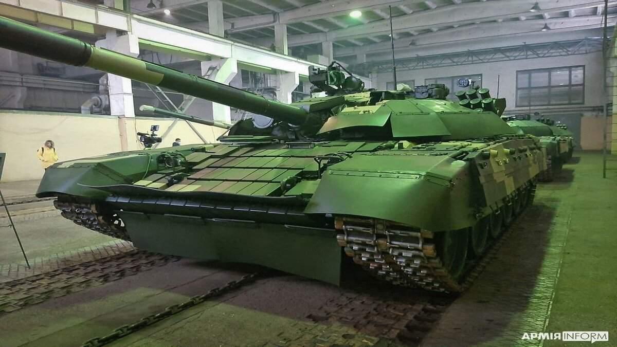 ЗСУ отримали п'ять модернізованих танків Т-72