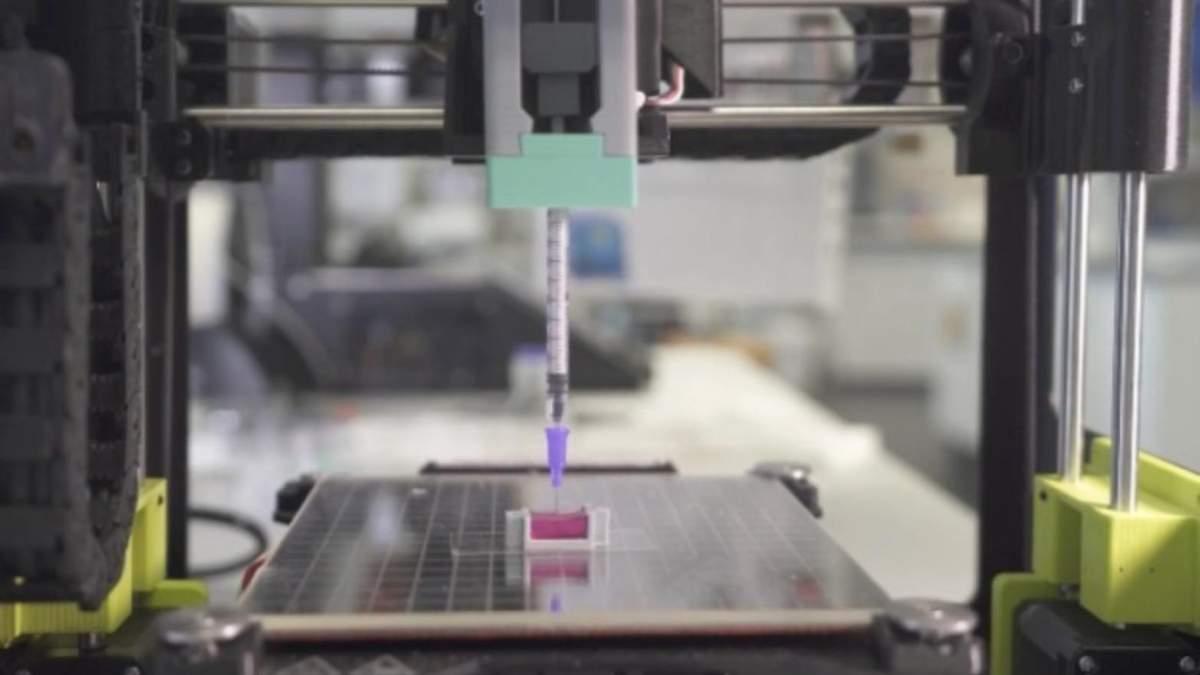 Ученые будут печатать кости прямо в теле пациента: видео