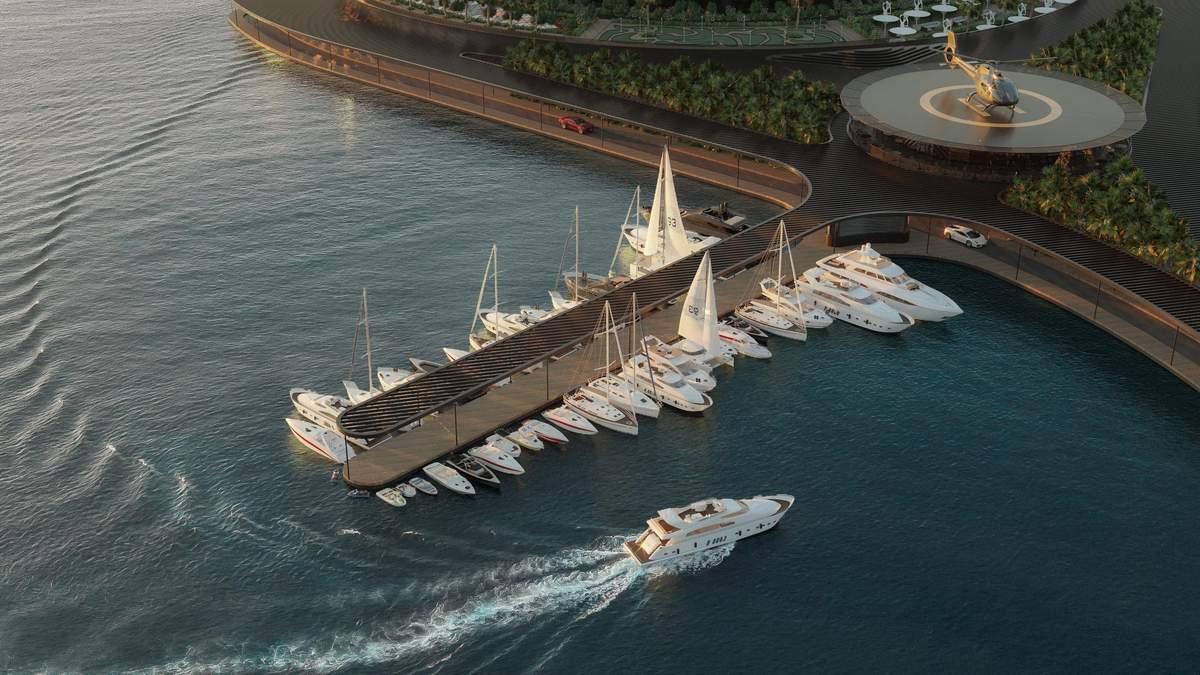 В Катаре появится плавучий эко-отель, который будет вращаться вокруг своей оси