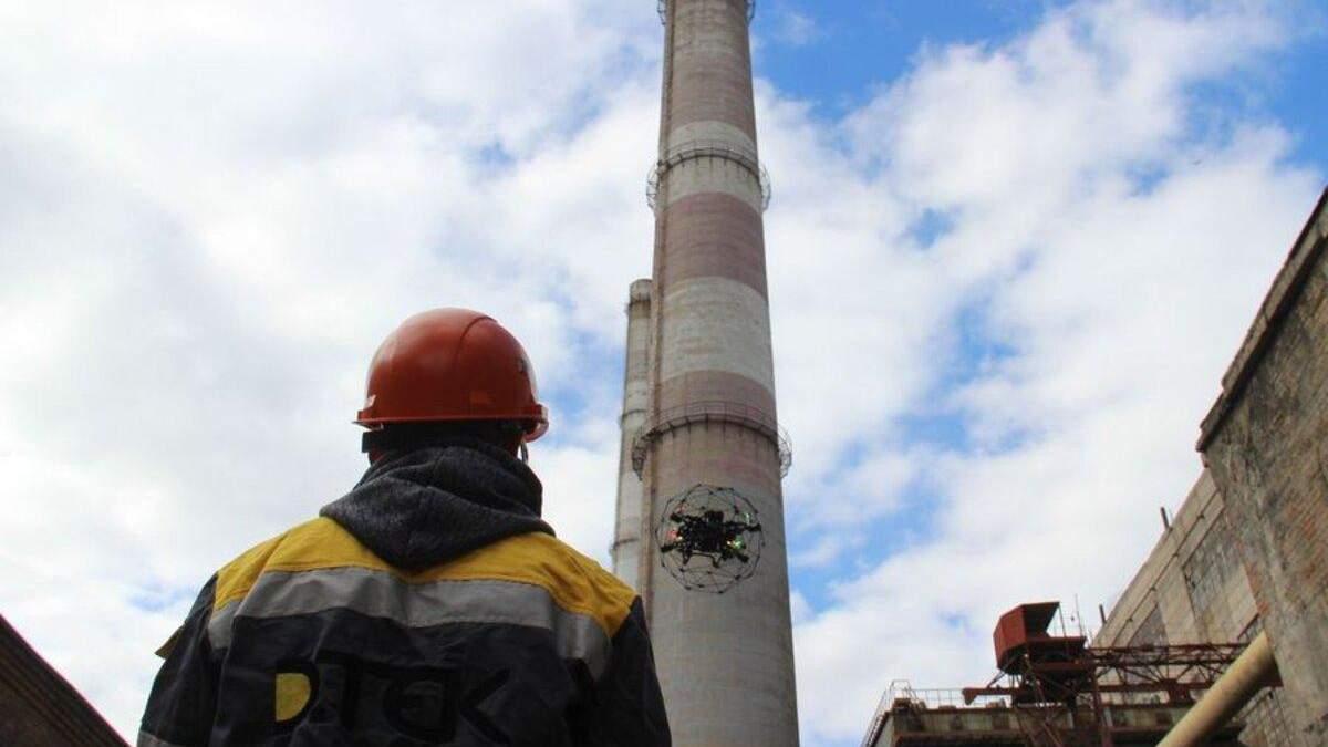 Дрони  інспектуватимуть обладнання теплоелектростанцій ДТЕК Енерго