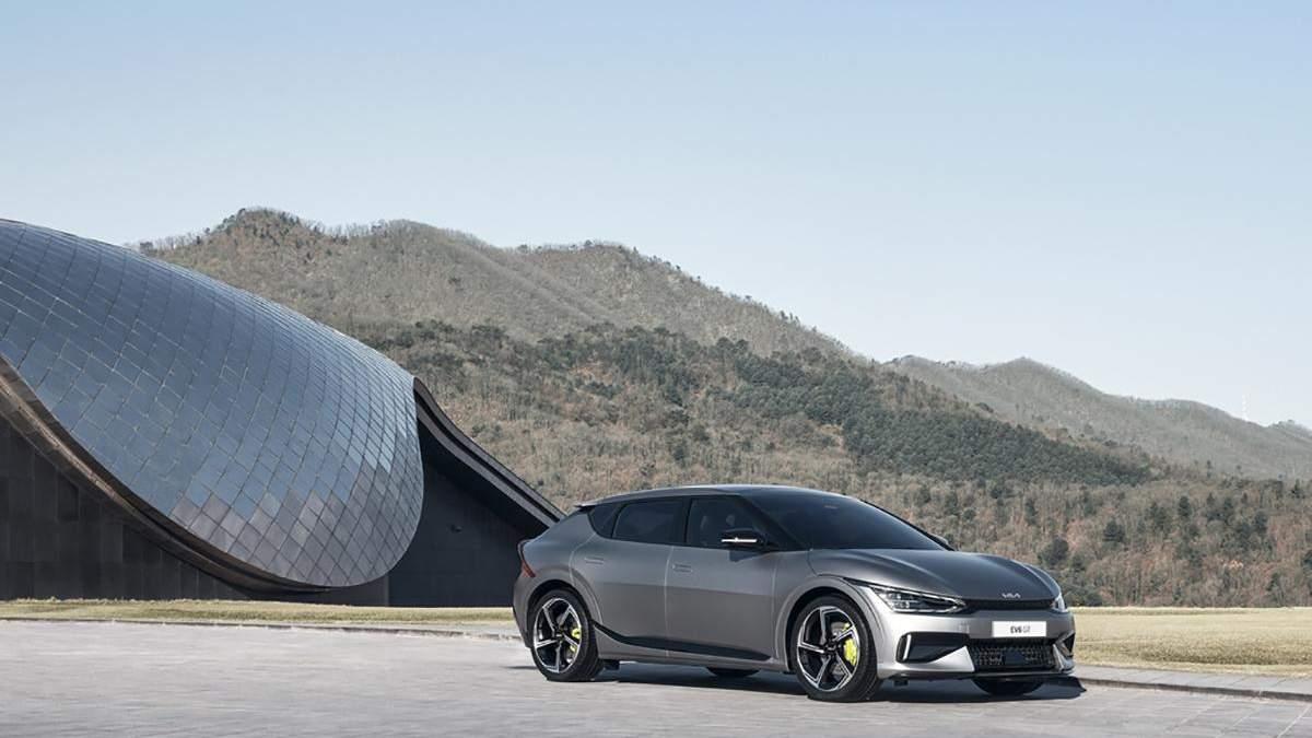 Kia Motors показала новый электрокар EV6: характеристики, цена