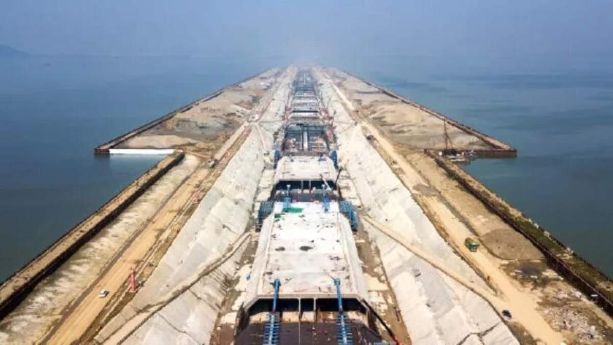 Китай будує підводний тунель Тайху, який стане найдовшим у країні