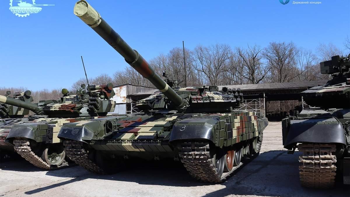 ЗСУ передали 5 модернізованих танків Т-64 ТА Т-72