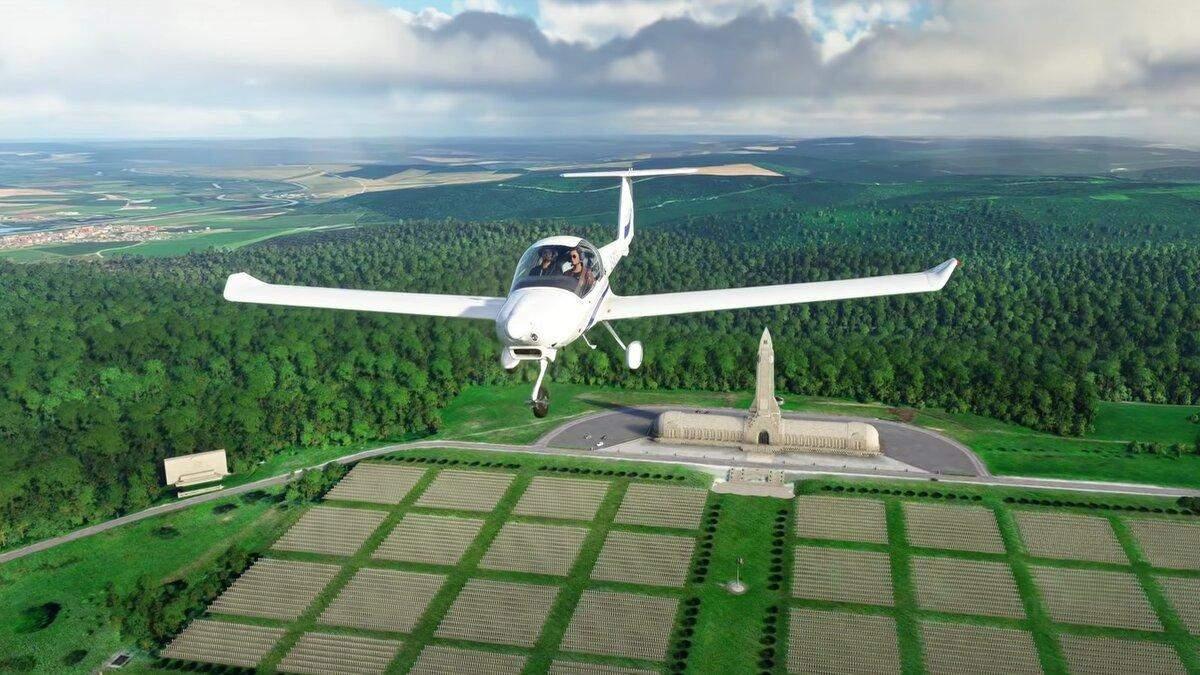 Розігрують комп'ютер у формі двигуна Microsoft Flight Simulator