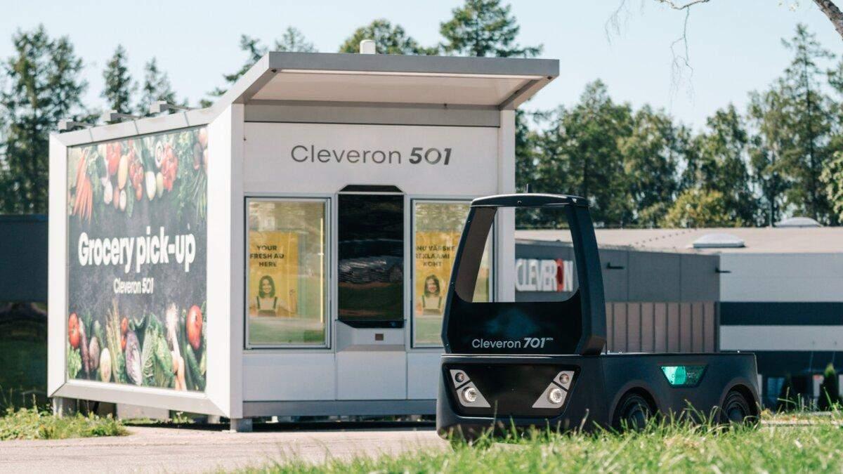 Эстонская компания разработала беспилотного робота-курьера