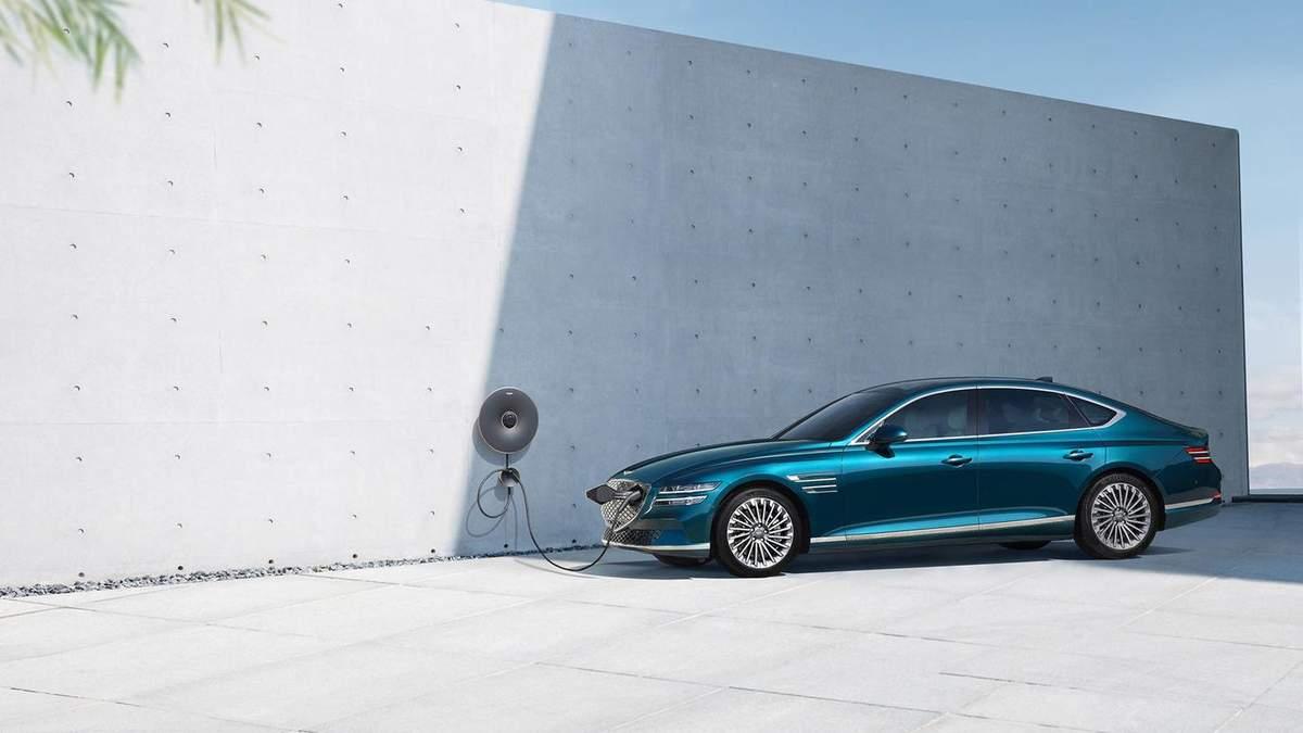Genesis Motors показал свой первый электромобиль: роскошные фото