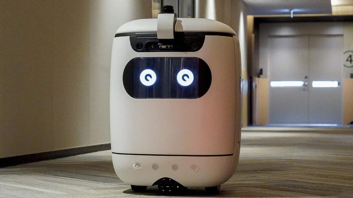 Японцы научили робота-курьера ездить лифтом: фото, видео