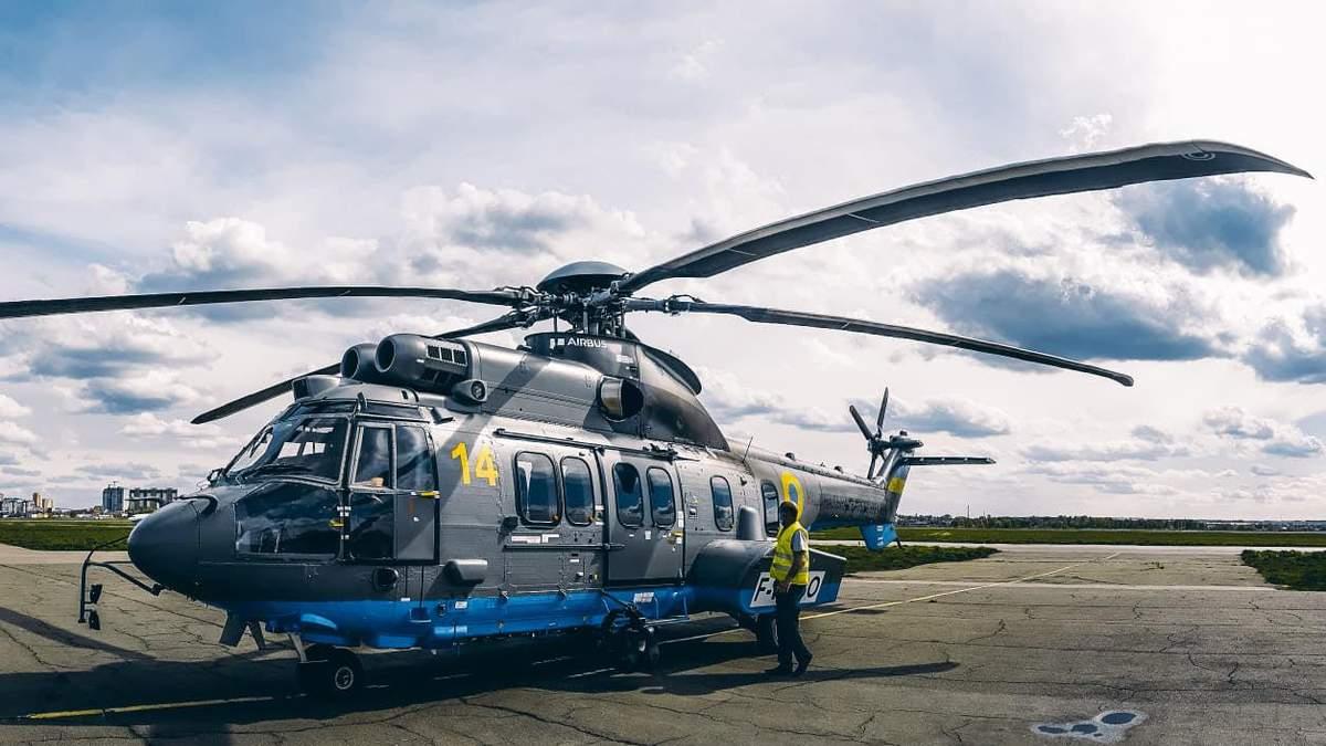 Нацгвардія отримала новий французький вертоліт Airbus: фото