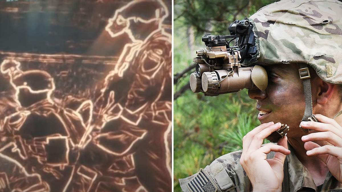 Армия США показала современный прибор ночного видения: видео
