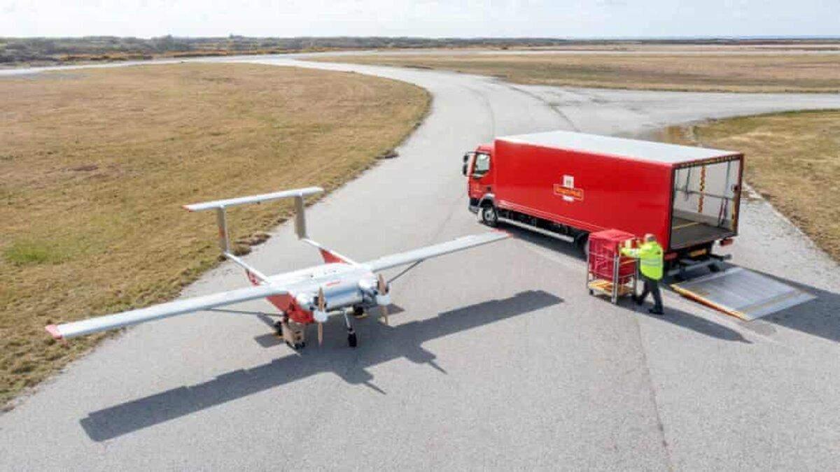 У Британії тестують доставку вантажів безпілотниками