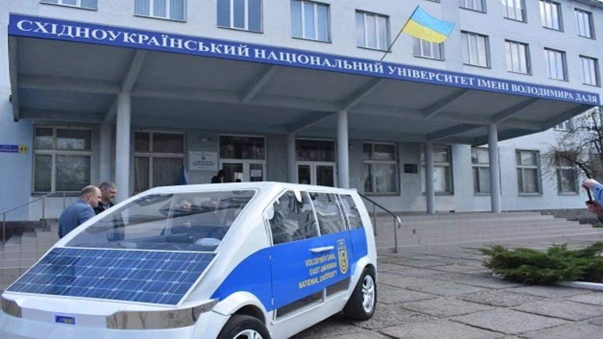 Українські студенти розробили електромобіль Єва