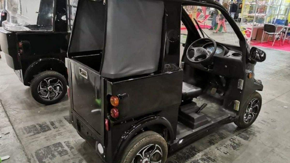 Украинцы представили компактные электромобили Konyk и Volyk: фото