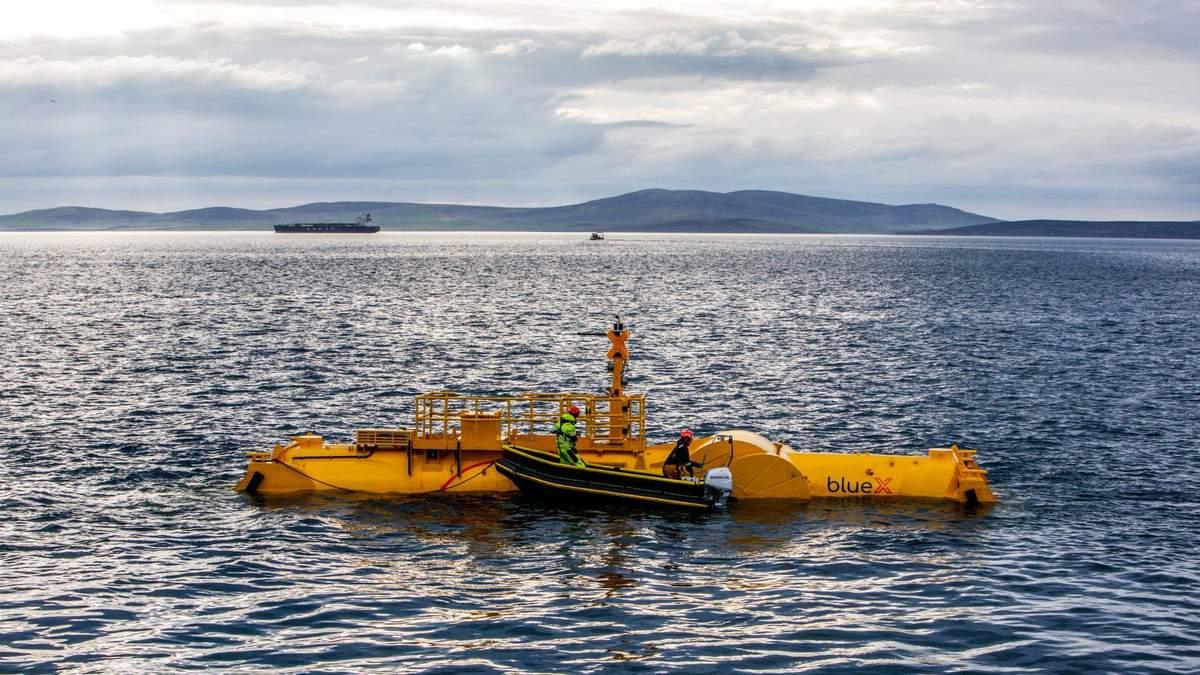 У Шотланді випробовують генератор, який переробляє енергію хвиль