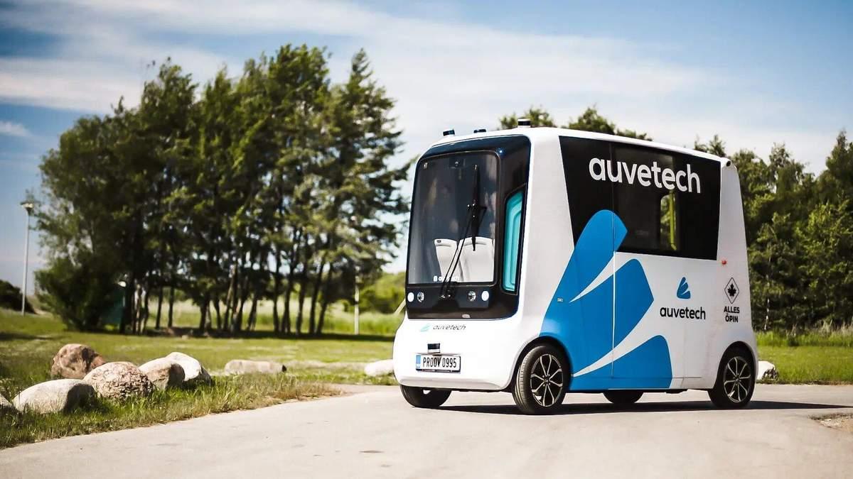 На дороги Естонії виїдуть безпілотні авто на водневому паливі