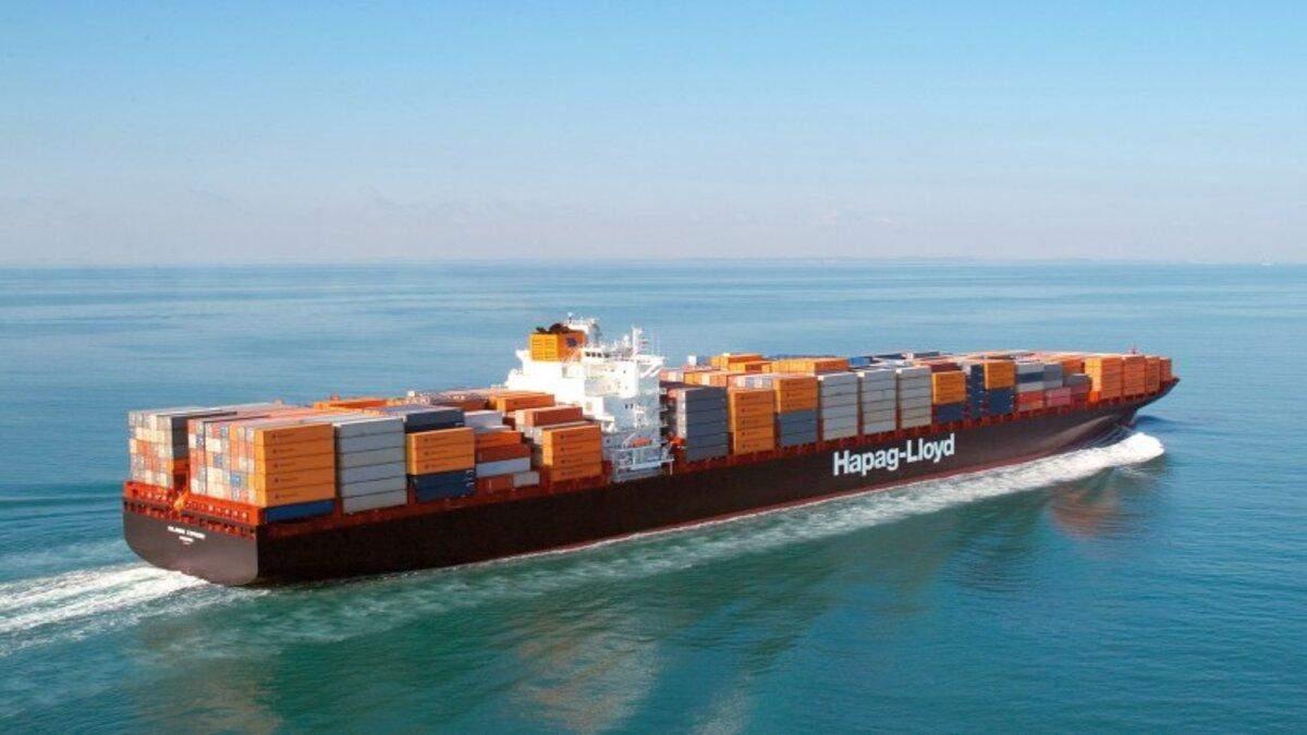 Масштабна судноплавна компанія Hapag-Lloyd