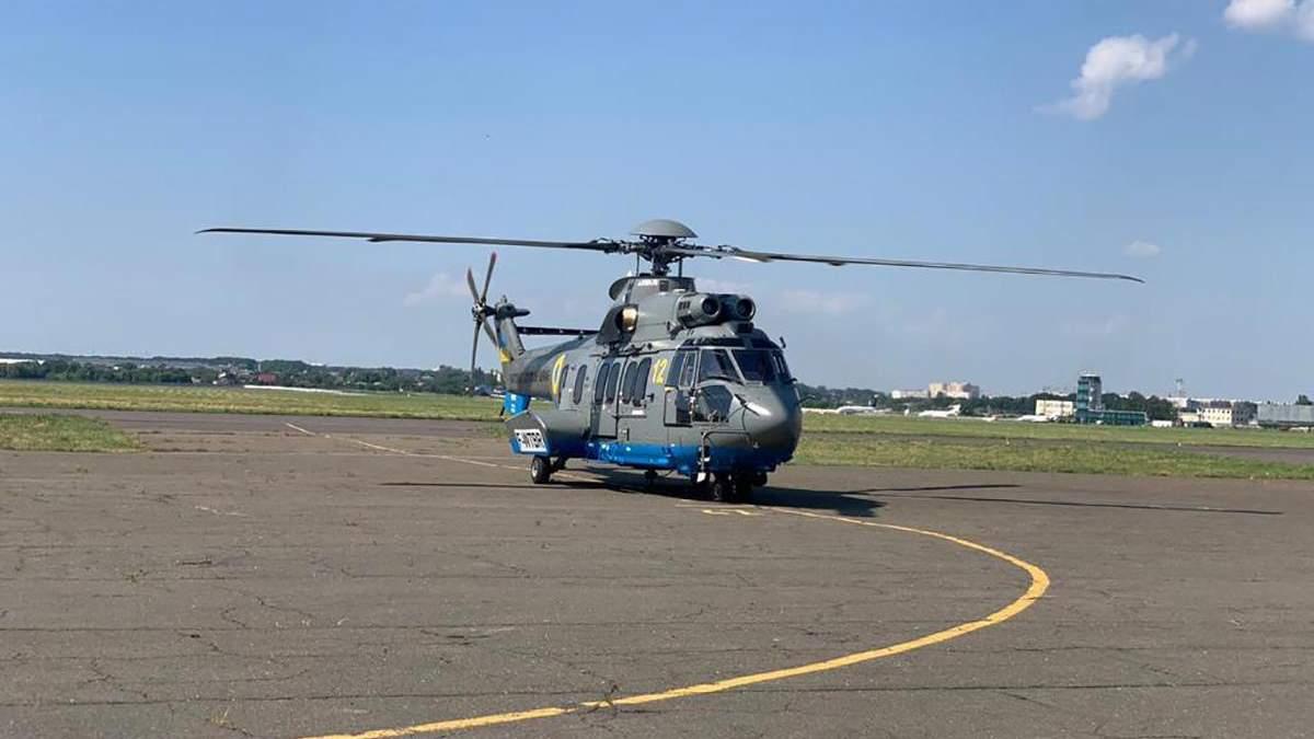 Нацгвардія отримала четвертий сучасний вертоліт Airbus: фото, відео