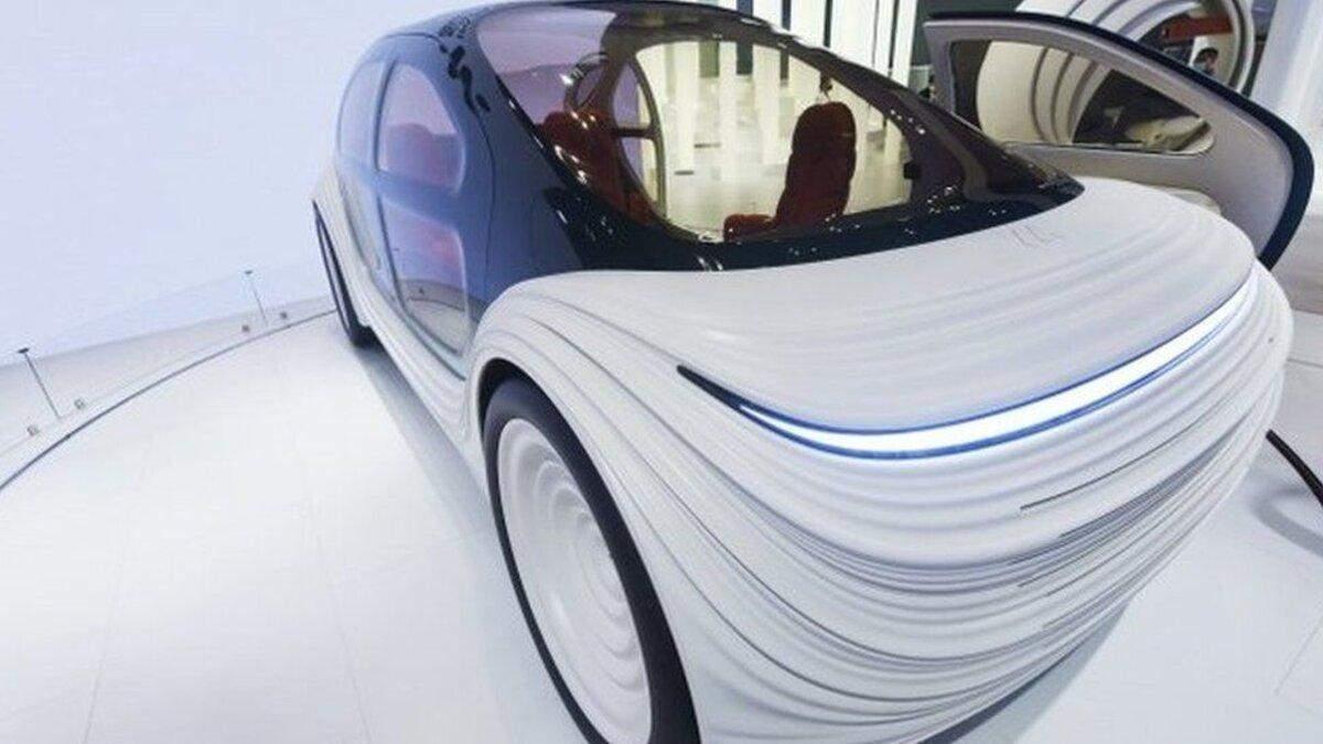 Британський дизайнер представив автомобіль, який очищує повітря