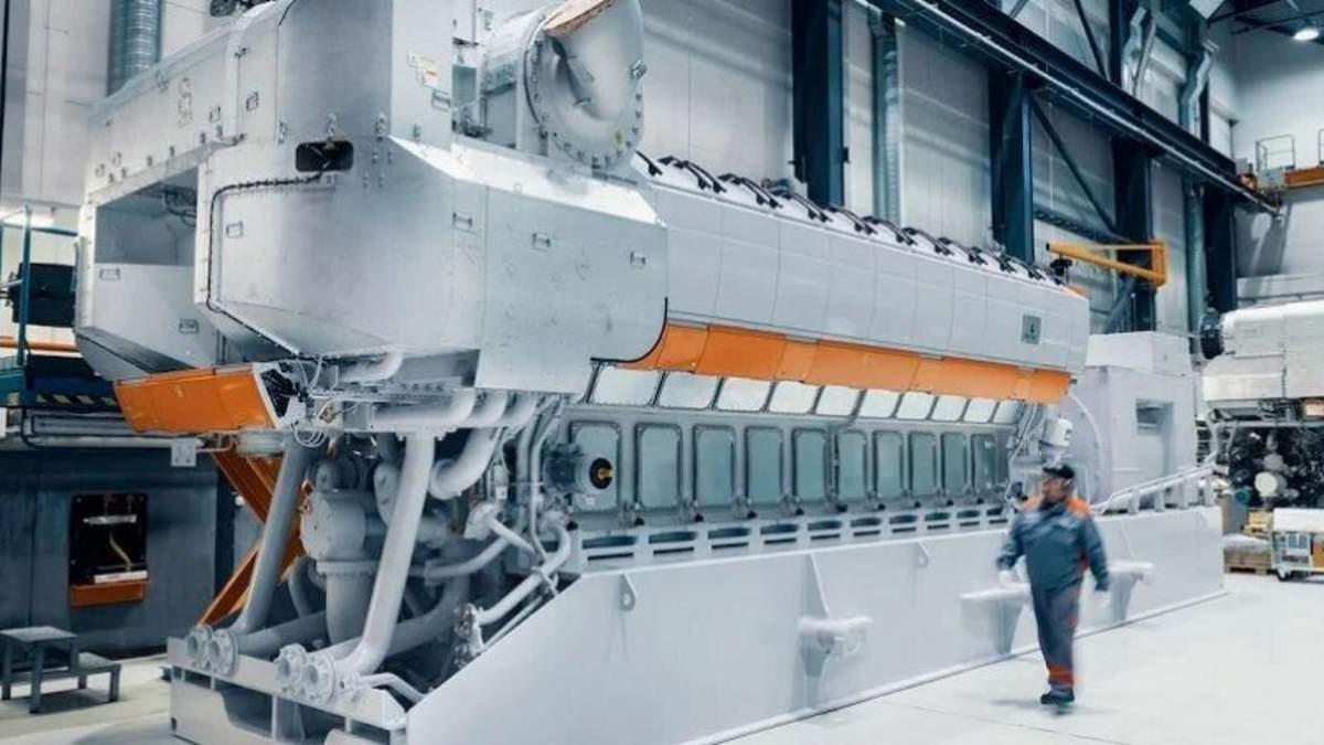 Финская компания Wartsila тестирует двигатели на чистом водороде