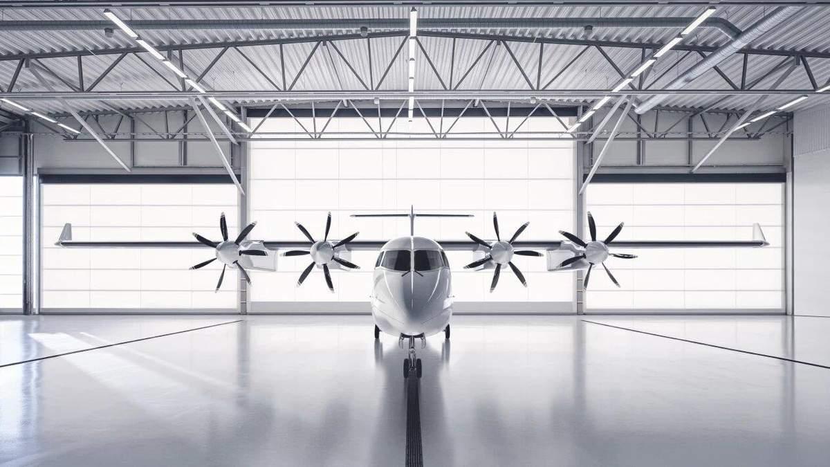 Шведська компанія створює повністю електричний літак: фото