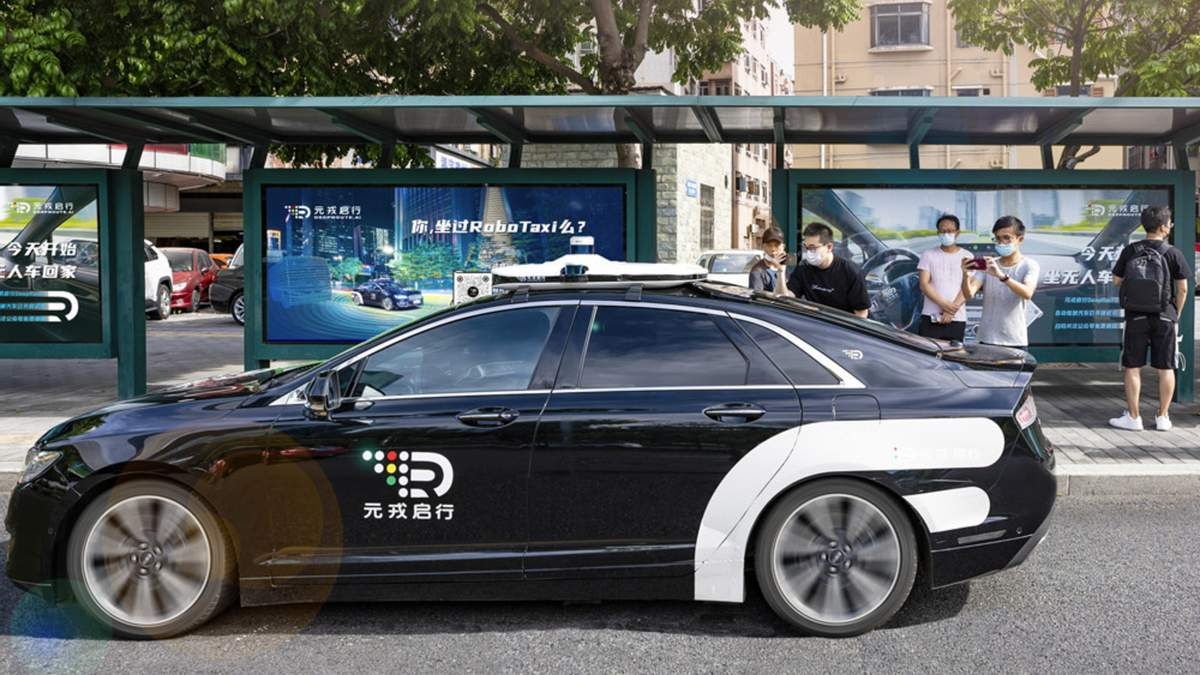 На вулиці міста у Китаї виїхали безпілотні таксі
