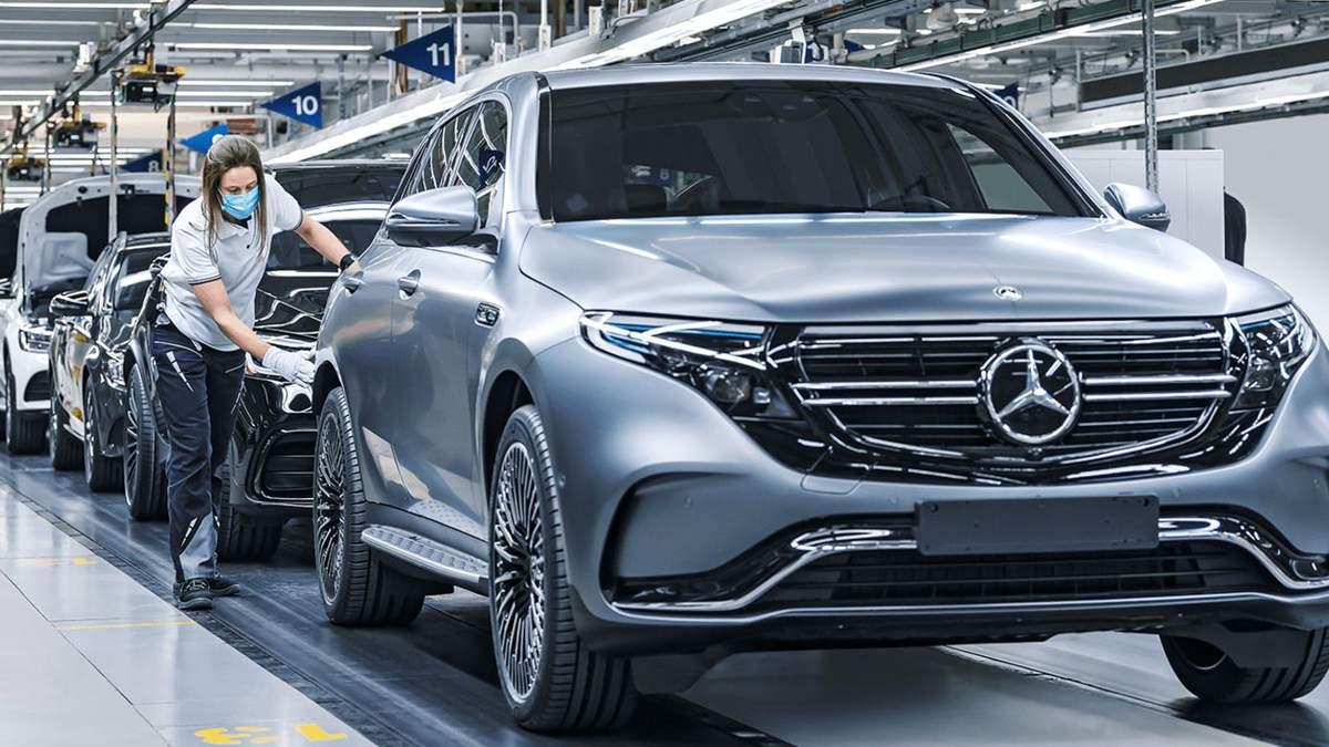 Mercedes-Benz вироблятиме лише електрокари: спрямують мільярди