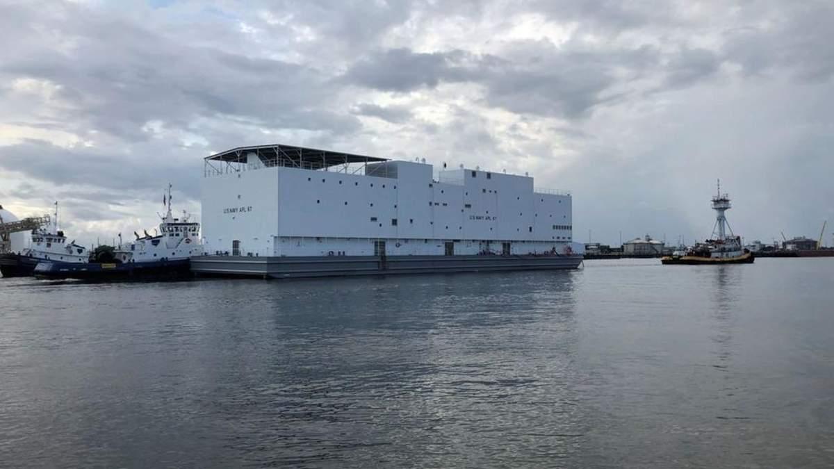 Военные США получили необычное судно, похожее на Ноев Ковчег: фото