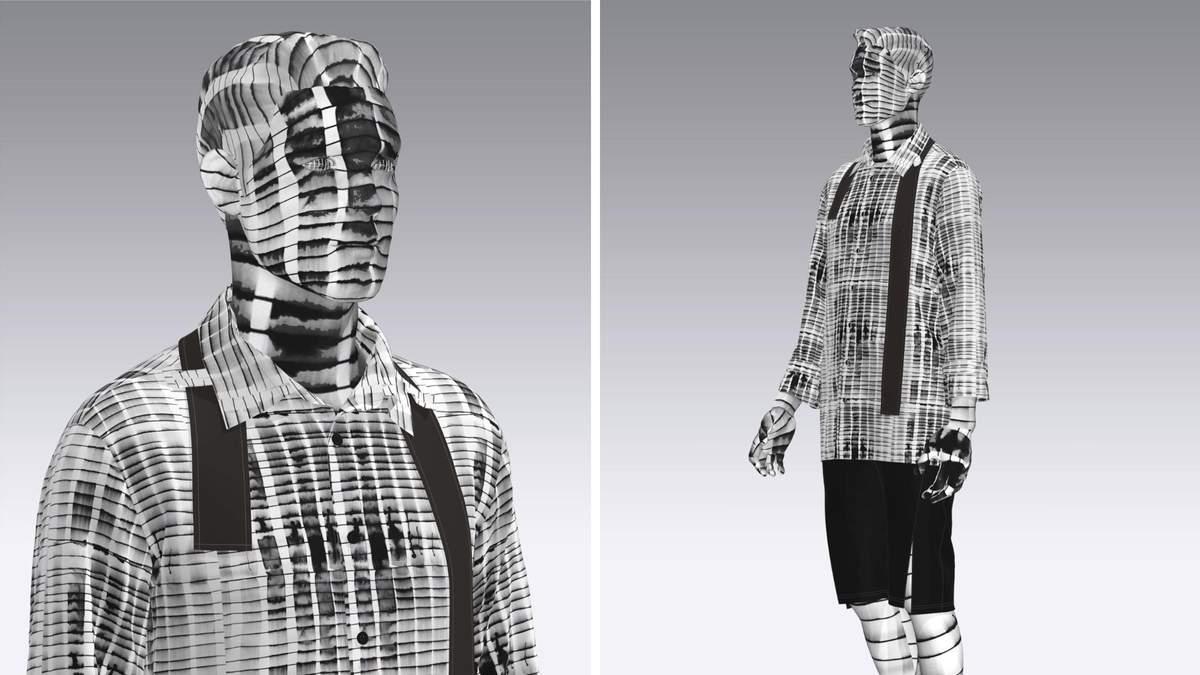 Украинский бренд Chereshnivska создает 3D-одежду: фото
