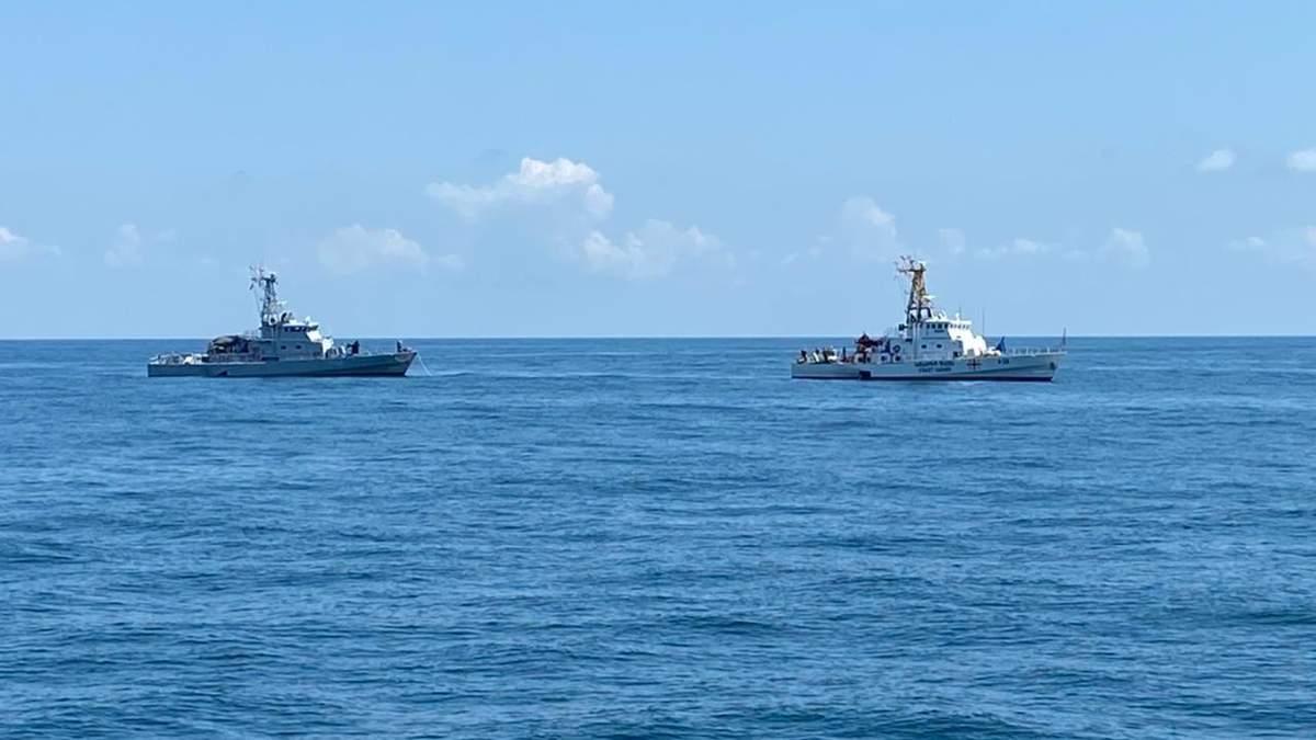 Патрульные катера типа Island – Славянск и Очамчире