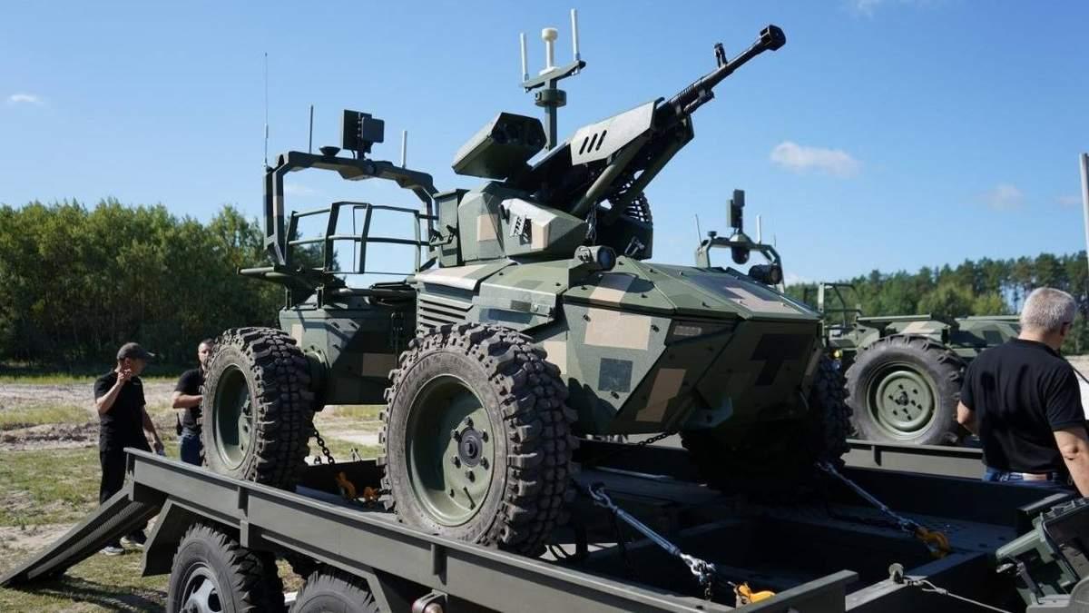 До Дня Незалежності: на військовому параді у Києві покажуть вітчизняних бойових роботів - Інновації