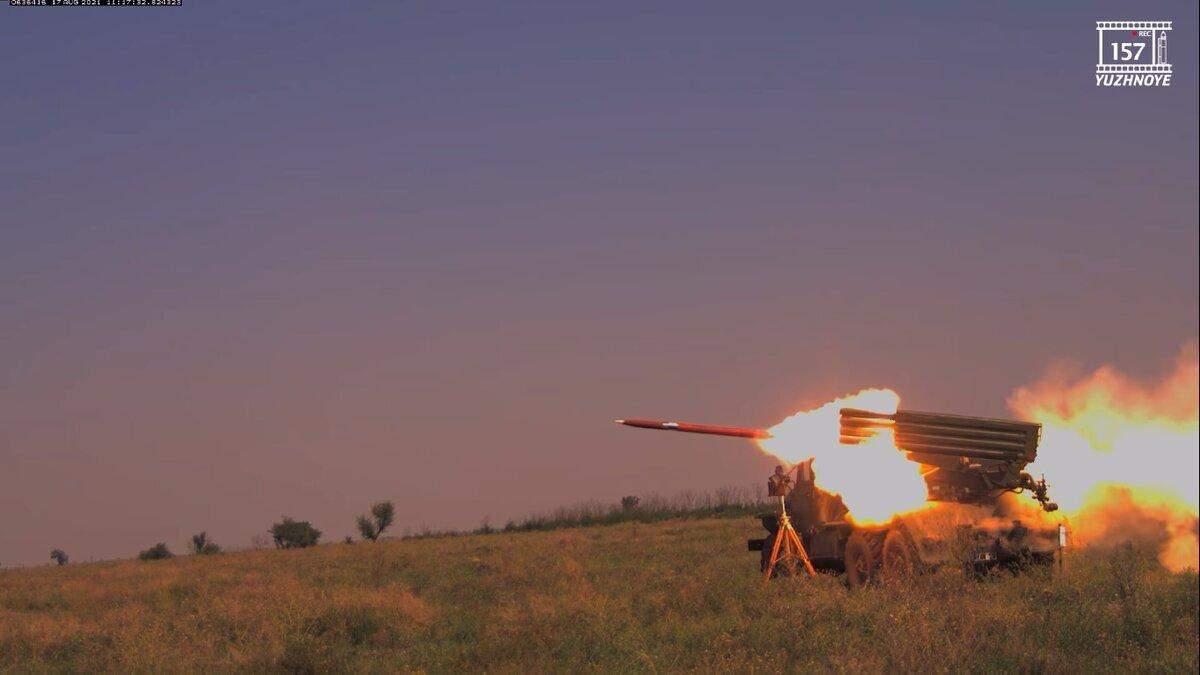 """В Україні випробували нові реактивні снаряди для БМ-21 """"Град"""" - Інновації"""