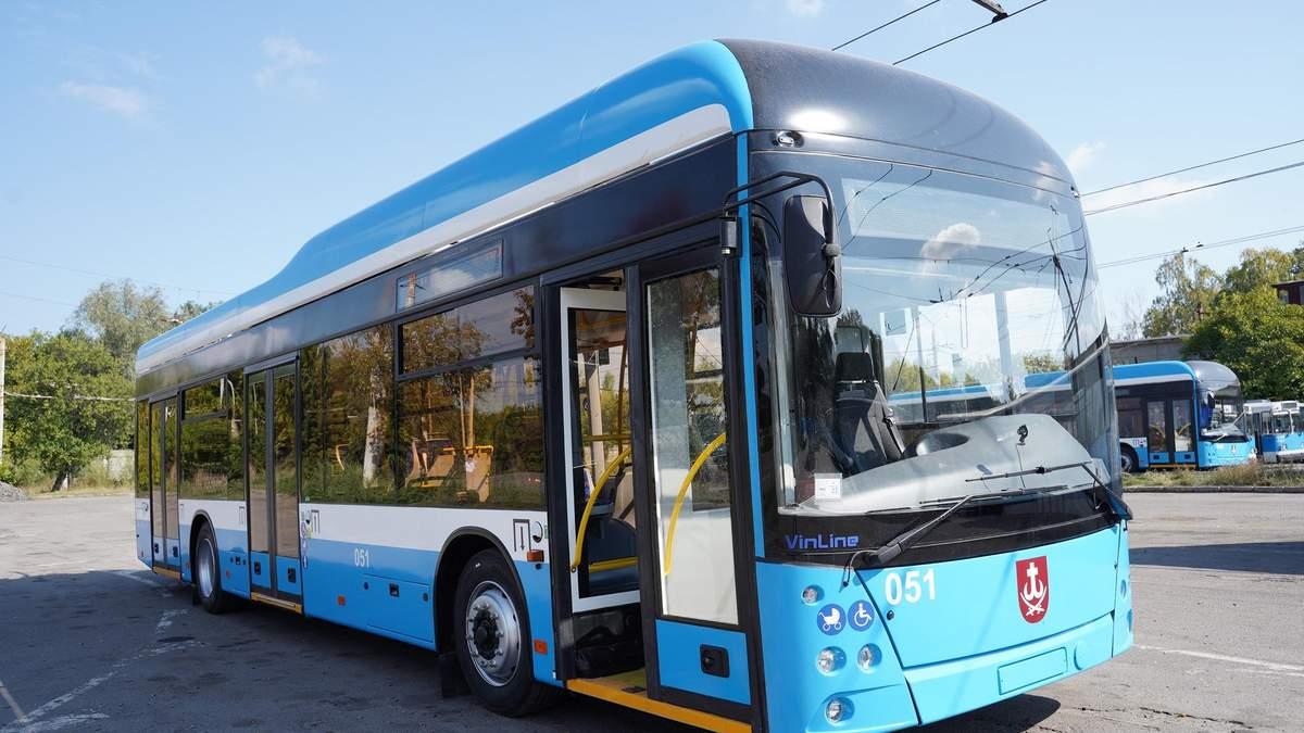 У Вінниці виготовили п'ятий тролейбус VinLine - Інновації