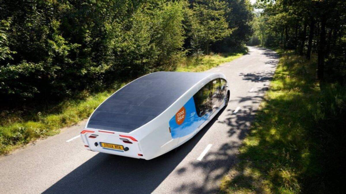 Студенти з Нідерландів розробили будинок на колесах: він використовує сонячну енергію - Інновації