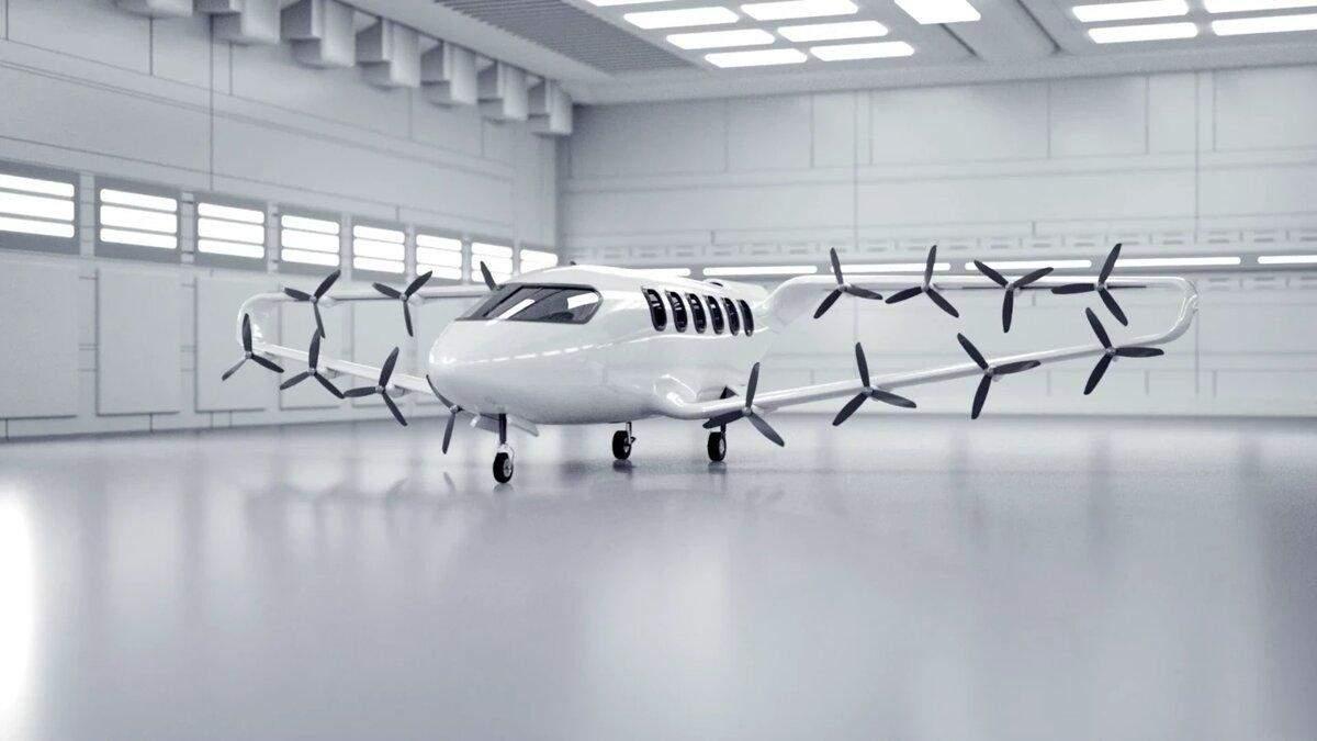 Craft Aero представила новий тип 9-місцевого літаючого таксі: красномовне відео - Інновації