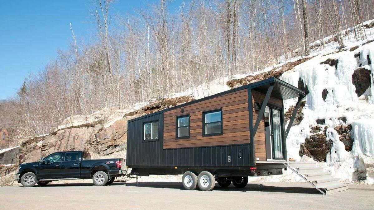 Компанія Minimaliste представила унікальний будинок на колесах Nomad - Інновації
